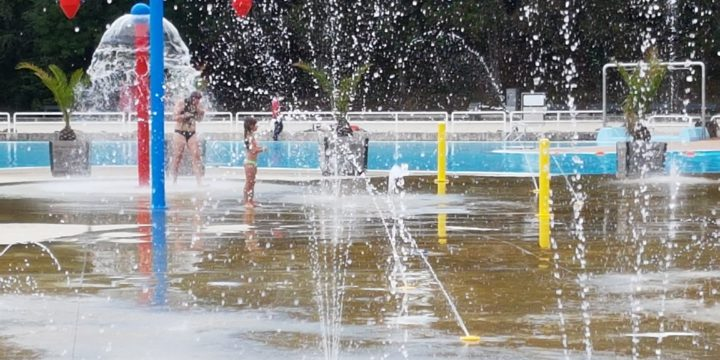 Spray Park Provinciedomein Halve Maan Diest